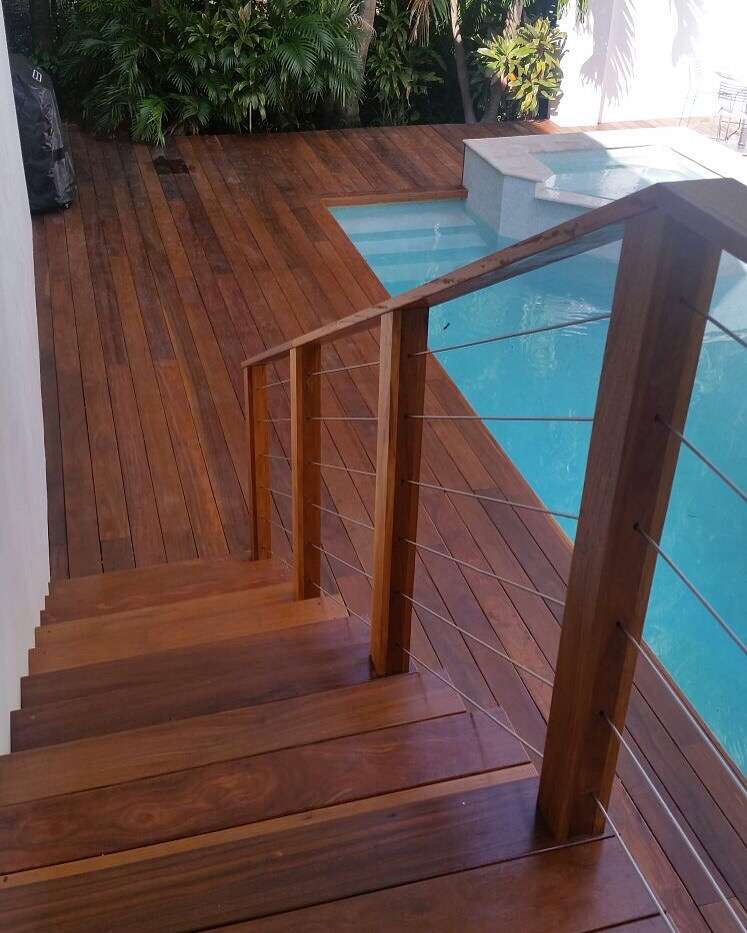 Cumaru Stairs & Deck