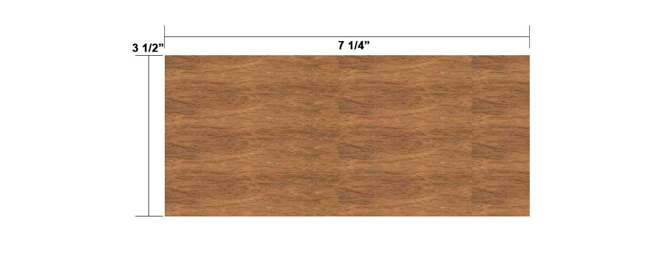 Cumaru 4×8
